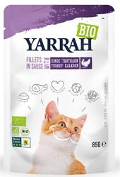 (dla kota dorosłego) fileciki z indykiem w sosie bio 85 g