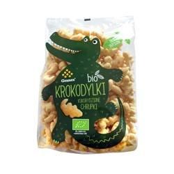 Chrupki kukurydziane Krokodylki BIO 80 g
