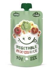 Danie mix warzyw z ryżem po 6 miesiącu życia BIO 90 g