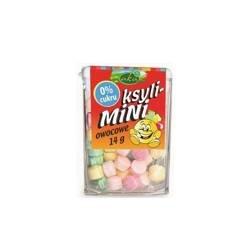 Drażetki pudrowe ksyli-Mini owocowe bez cukru 14 g