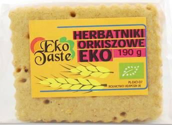 Herbatniki wegańskie orkiszowe BIO 190 g  (tast)