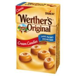 Karmelki o smaku śmietankowym bez cukru Werther's