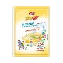 Kaszka mleczno-kukurydziana o smaku bananowym 50 g