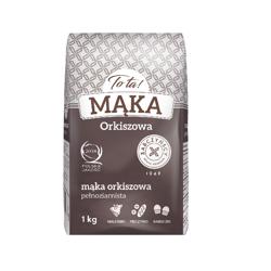 Mąka orkiszowa pełnoziarnista 1 kg