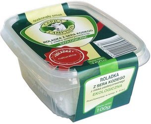 Roladka z sera koziego naturalna BIO 100 g