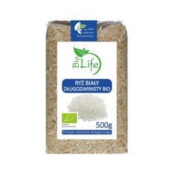 Ryż biały długoziarnisty ekologiczny 500 g