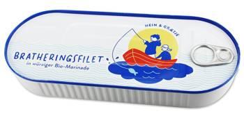 Śledź filety smażone w BIO marynacie 325 g