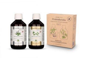 Suplement diety probiotyczny ekstrakt ziołowy proBIOborelio bezglutenowy BIO (2 x 300 ml) 600 ml