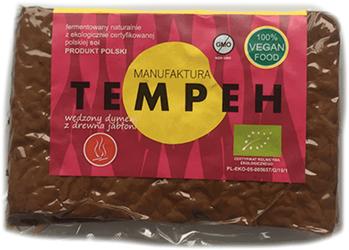 TEMPEH WĘDZONY BIO 200 g - MANUFAKTURA TEMPEH