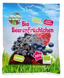 Żelki owoce leśne bez żelatyny bezglutenowe BIO 80 g